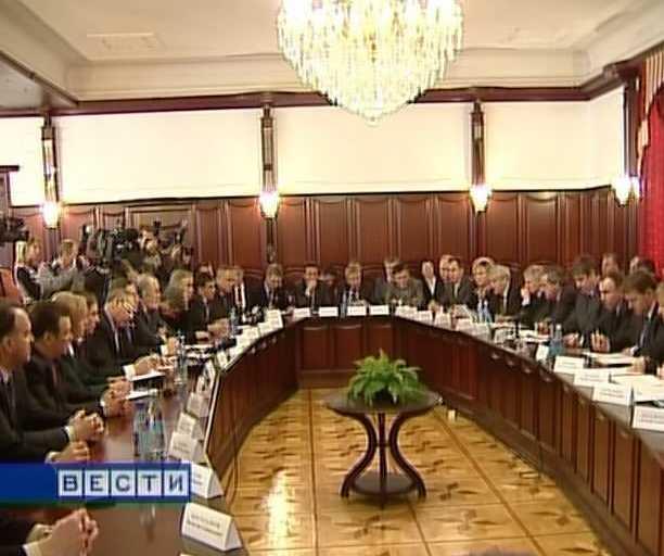 Встреча Никиты Белых с руководителями  крупнейших предприятий