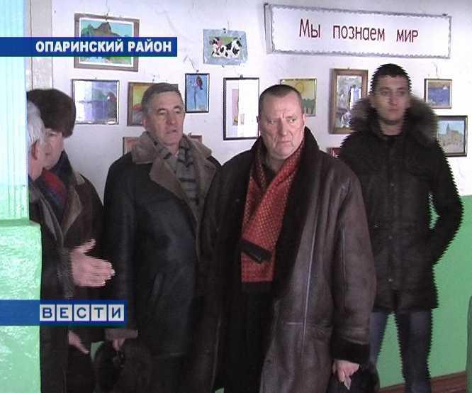 Визит Алексей Розуван в Опаринский район