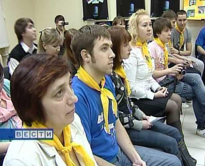 Волонтеры открывают год молодежи