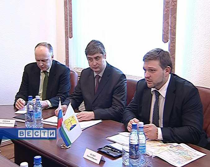 Встреча Никиты Белых  с начальником Горьковской железной дороги