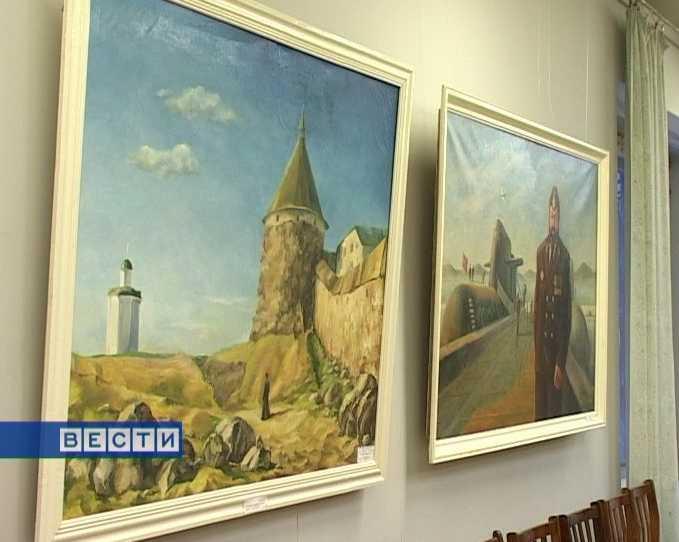 Выставка в детской художественной школе