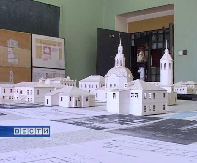 Студенческие макеты по реставрации православных храмов