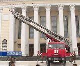 Плановые учения пожарных и сотрудников МЧС