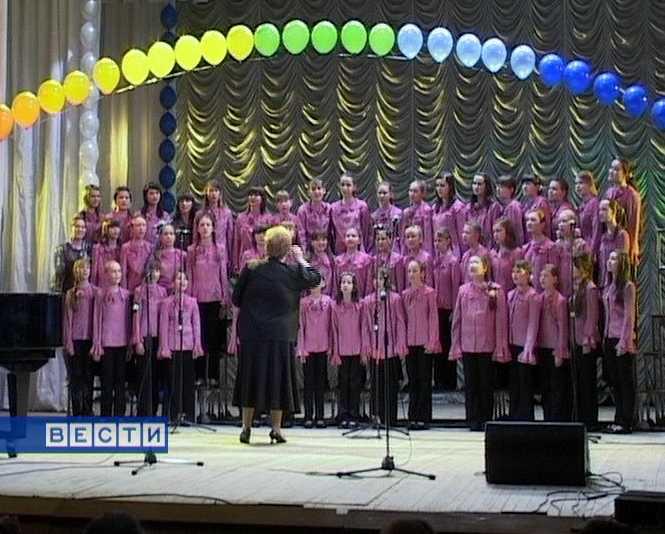 30 лет хоровому отделению школы искусств