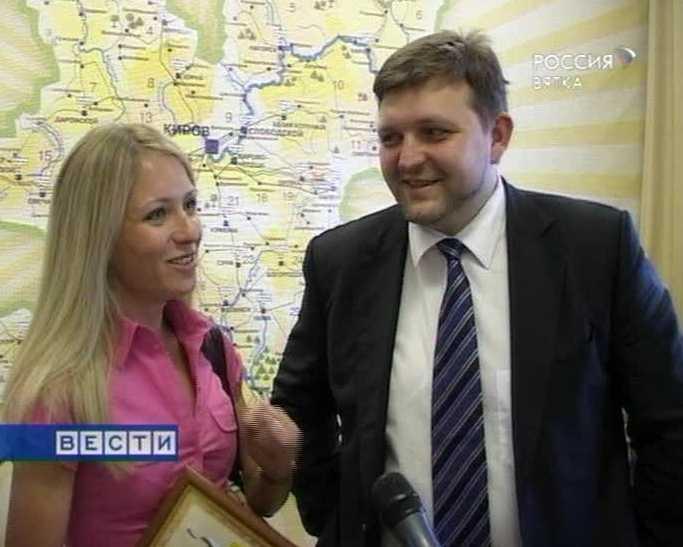В Киров приехала Анна Альминова