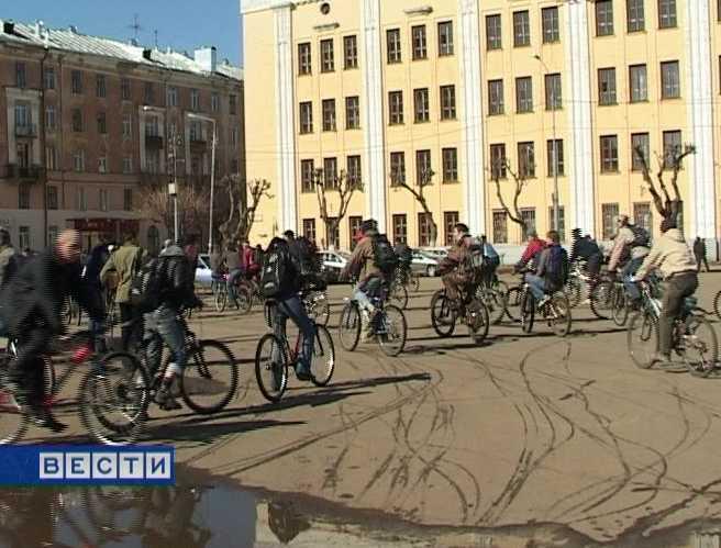 Акция велосипедистов