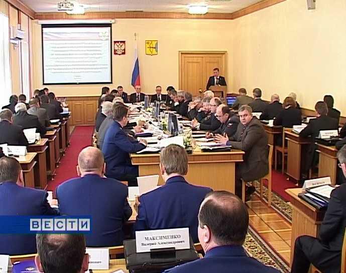 Заседание коллегии по вопросам безопасности