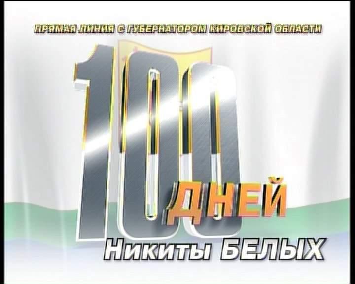 «100 дней Никиты Белых». Прямая линия с губернатором Кировской области