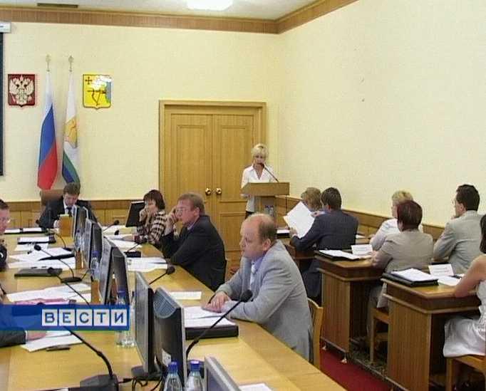 Заседание Правительства области