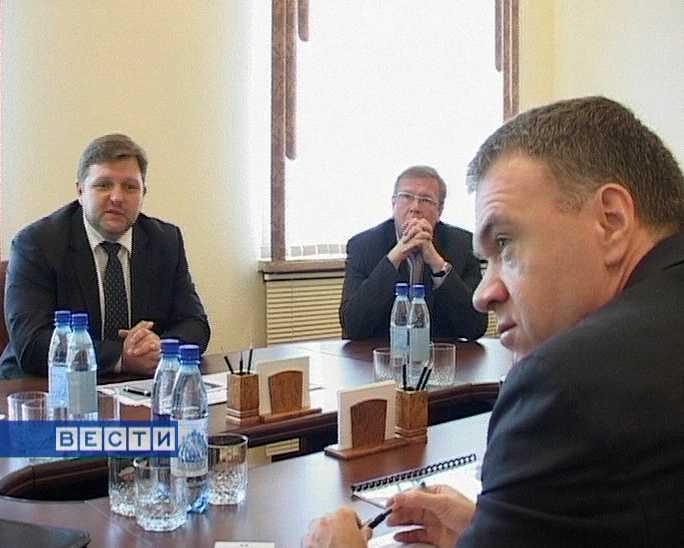 Встреча губернатора  со специалистами ЕБРР