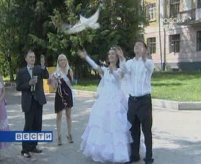 Кризис свадьбе не помеха