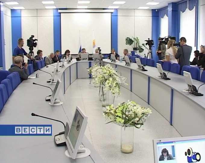 Видеоконференция в Управлении Пенсионного фонда