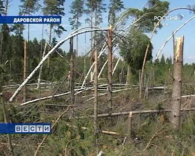 Последствия июньского урагана