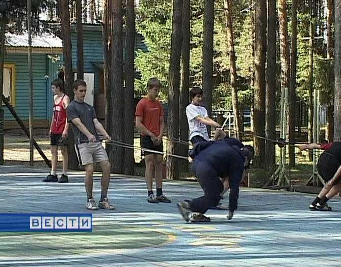 Летние тренировки конькобежцев