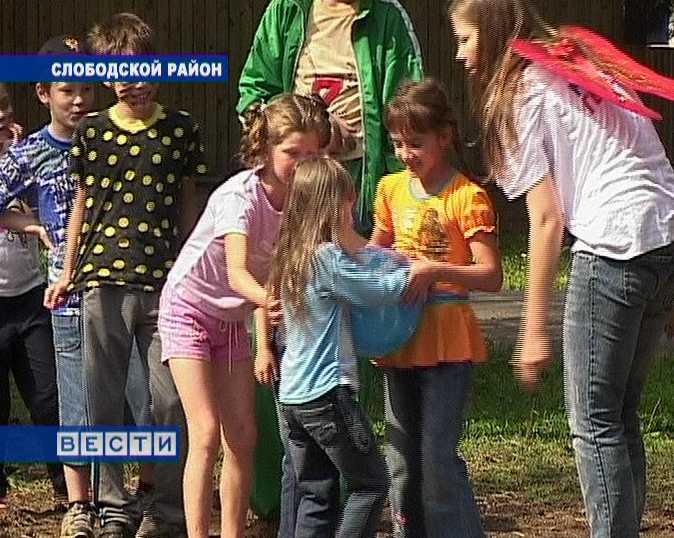 Праздник в  детском лагере