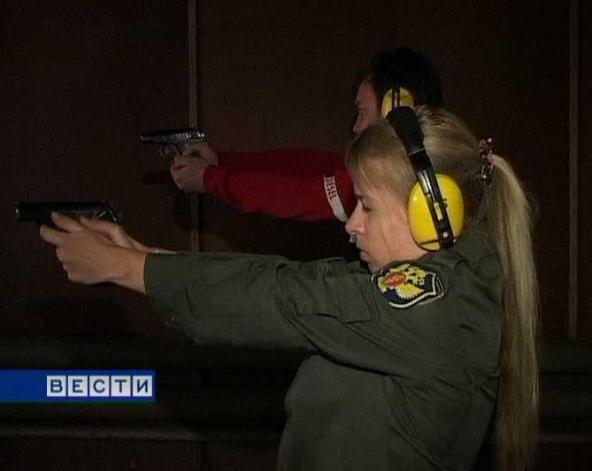 Женщина -снайпер