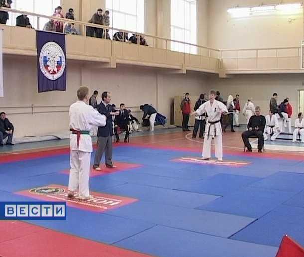 Кубок области по каратэ-киокусинкай