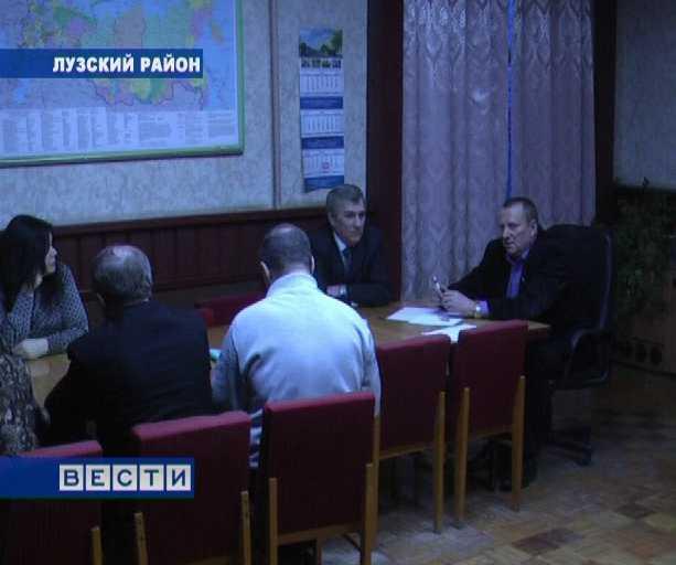 Алексей Розуван  посетил Лузский ЛПК