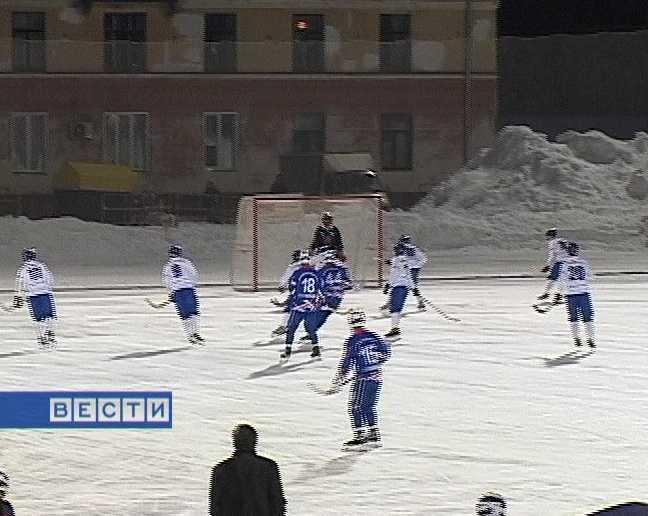 Матч с московским «Динамо»
