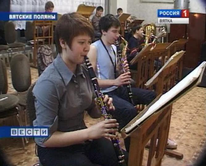 Юная кларнетистка