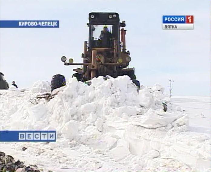 Ледовые переправы закрылись