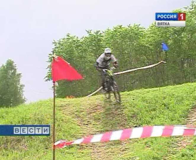 Соревнования велосипедистов - экстремалов