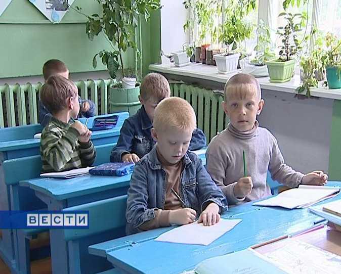 В классе - только мальчики