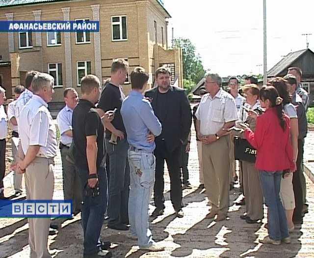 Визит губернатора в Афанасьевский район