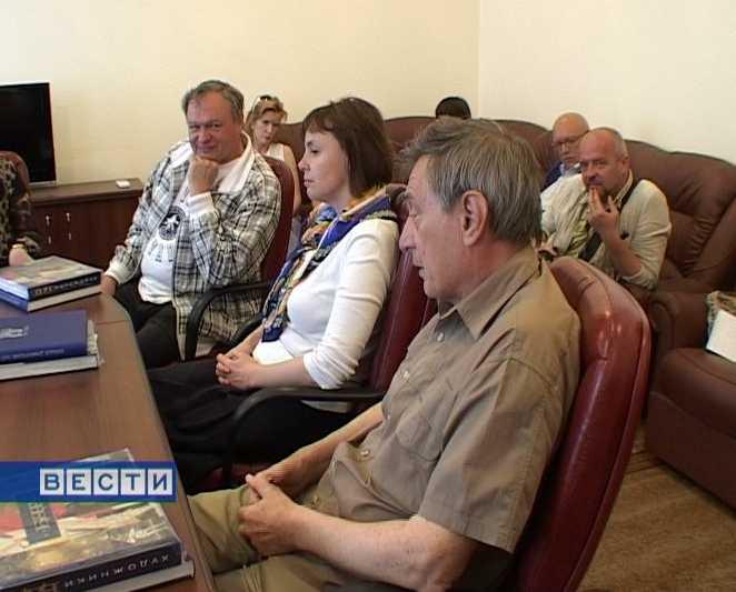 Встреча актеров БДТ с губернатором