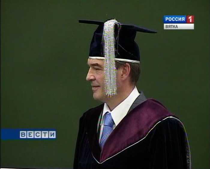 Новый ректор ВятГГУ