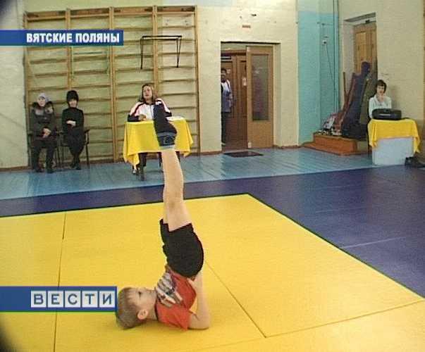 Акробатика в Вятских Полянах