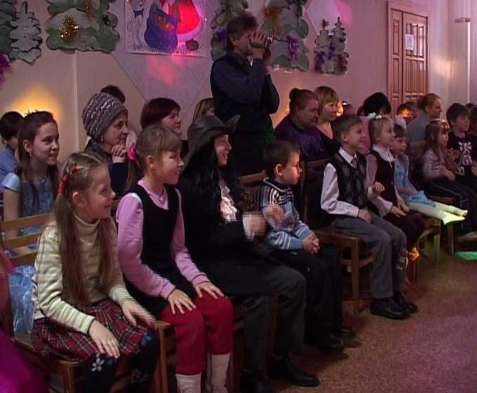 Новогодний праздник в центре детского творчества
