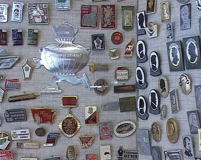 Выставка значков