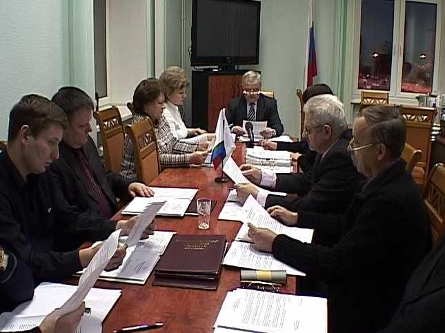 Заседание областного избирательного комитета