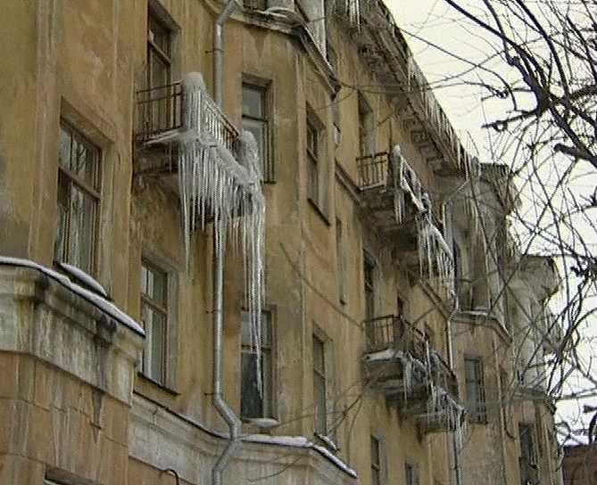 Проверка содержания домов в зимний период