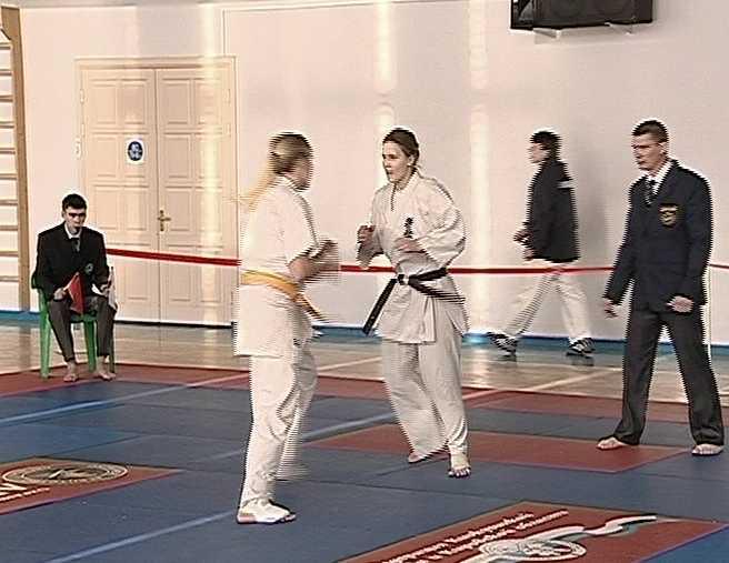 Областной чемпионат по киокусинкай каратэ