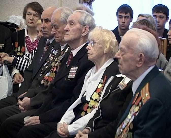 Встреча ветеранов