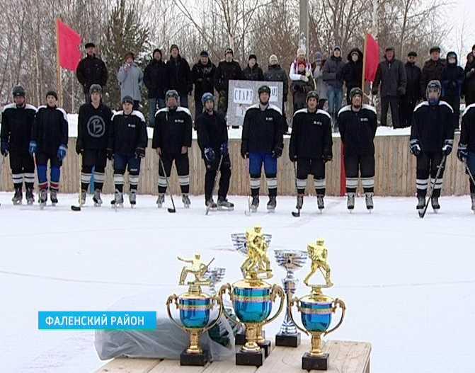 Первенство Фалёнского района по хоккею с шайбой
