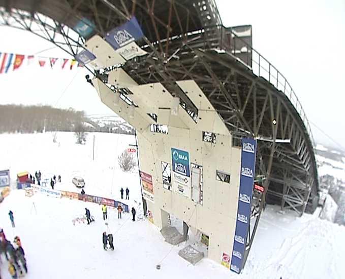 Чемпионата мира по ледолазанию