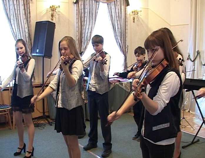 Фестиваль-конкурс скрипачей