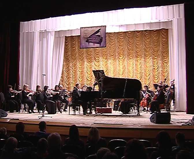 Открытие конкурса пианистов