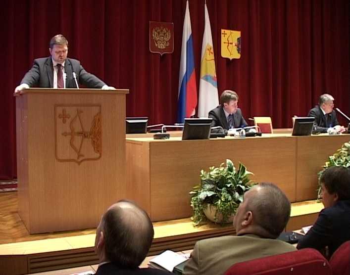 Послание губернатора областному Законодательному собранию