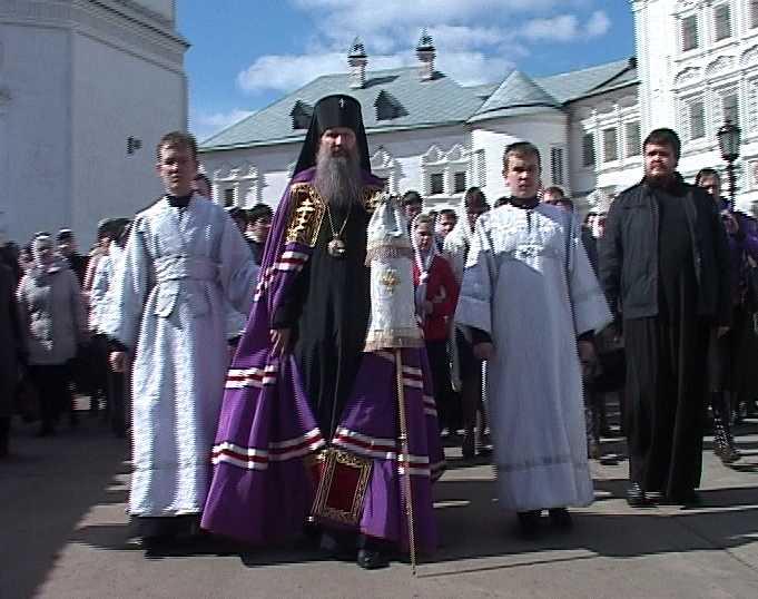 Встреча архиепископа Вятского и Слободского Марка