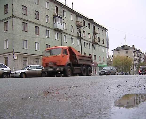 Ограничение на перемещение большегрузных машин