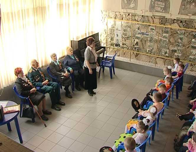 Встреча дошкольников с ветеранами