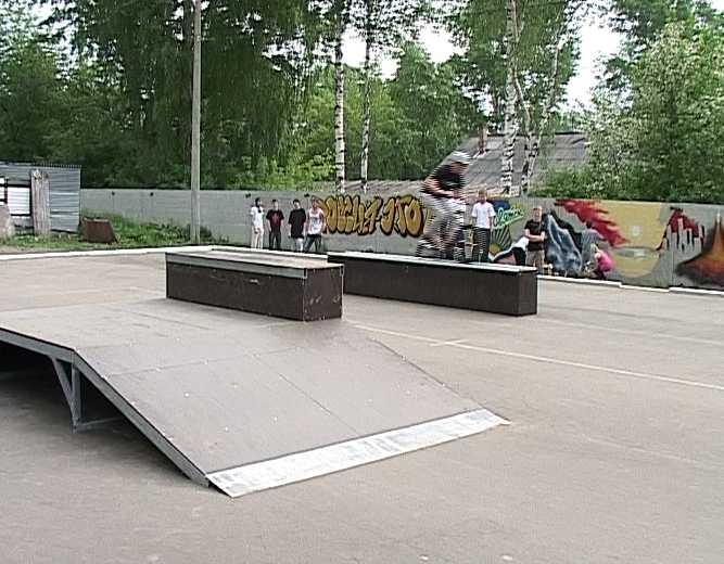 Площадка для экстремальных видов спорта