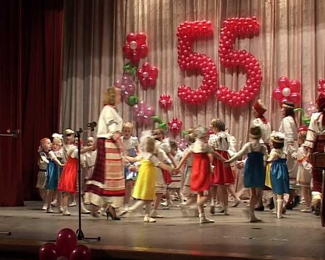 55 лет детскому саду
