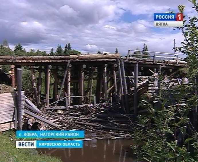 Мосты в Нагорском районе