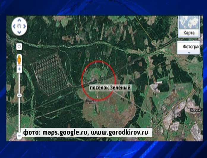 Взрыв в Оричевском районе