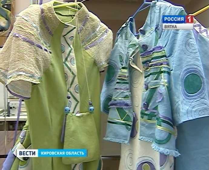 Кировская коллекция «Лёна-Матрёна» на конференции моды в Москве